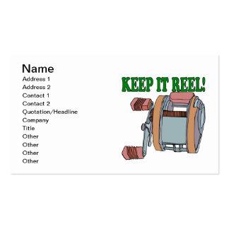 Keep It Reel 2 Business Card