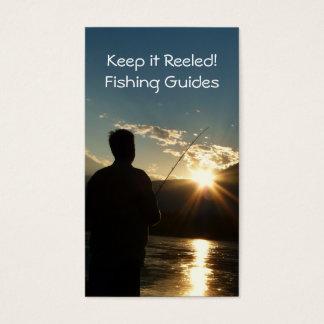 Keep it Reeled Fishing Guide Vertical Biz Card