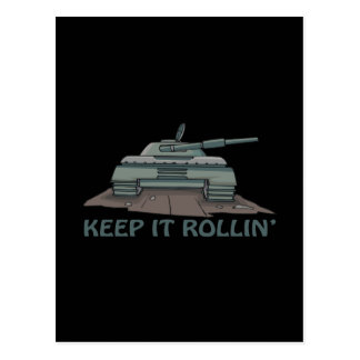 Keep It Rollin Postcard