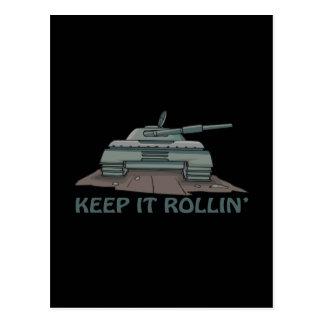 Keep It Rollin Postcards