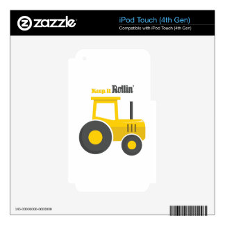 Keep it Rollin iPod Touch 4G Decal