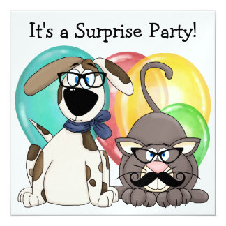Keep it Secret! Surprise Party - SRF Card