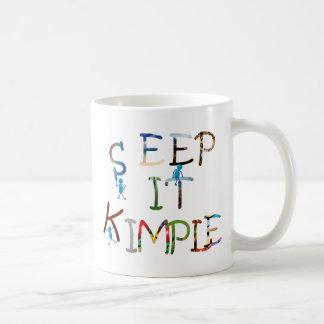 Keep It Simple - Color Coffee Mug