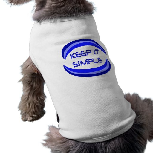 Keep It Simple Dog Clothes
