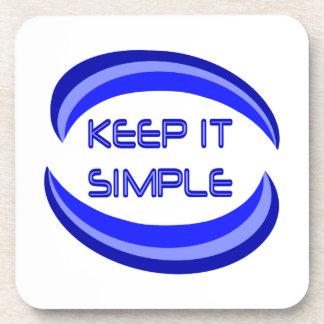 Keep it Simple Drink Coaster