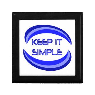 Keep it Simple God Box