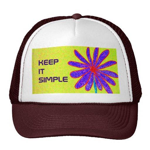 Keep It Simple hat