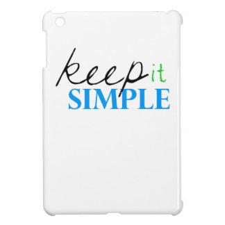 keep it simple case for the iPad mini