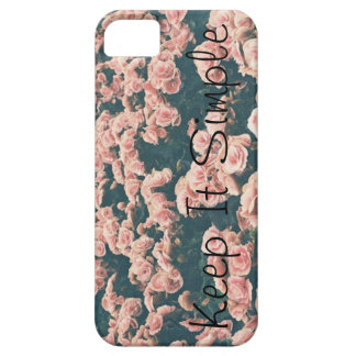 """""""Keep it Simple"""" Iphone 5 case"""