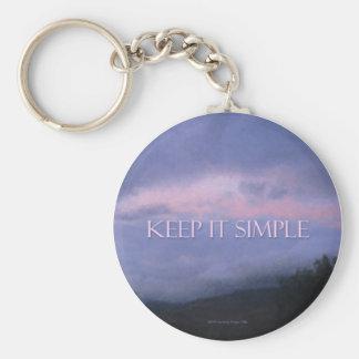 Keep It Simple Keychain