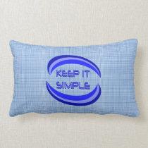 Keep It Simple Lumbar Pillow