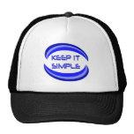 Keep It Simple Mesh Hats