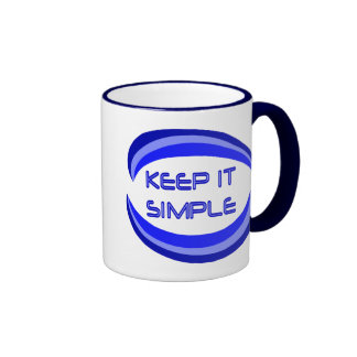 Keep it Simple Mugs