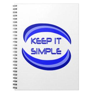Keep it Simple Notebooks