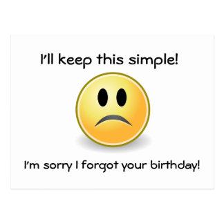 Keep it Simple Post Card