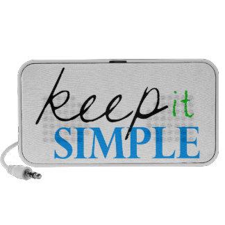 keep it simple laptop speaker