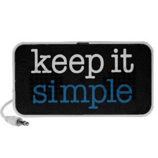 Keep It Simple Travelling Speakers