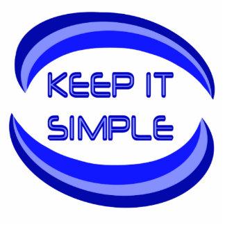 keep it simple statuette