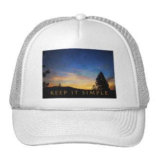 Keep It Simple Sunrise Hats