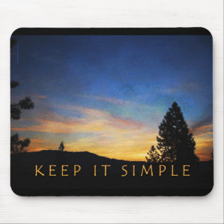 Keep It Simple Sunrise Mouse Pad