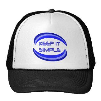Keep It Simple Trucker Hat
