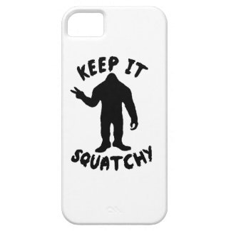 Keep it Squatchy iPhone 5 Cases