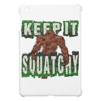 KEEP IT SQUATCHY CASE FOR THE iPad MINI