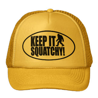 KEEP IT SQUATCHY FINDING BIGFOOT - CLASSIC BOBO TRUCKER HAT