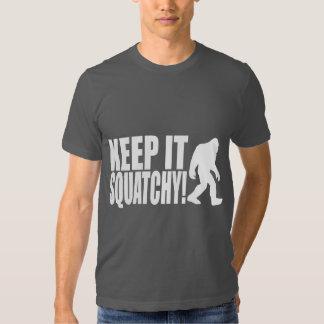 KEEP IT SQUATCHY! FINDING BIGFOOT - CLASSIC BOBO TEE SHIRT