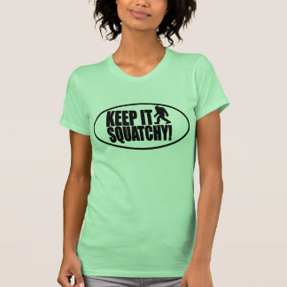 KEEP IT SQUATCHY! FINDING BIGFOOT - CLASSIC BOBO T SHIRT