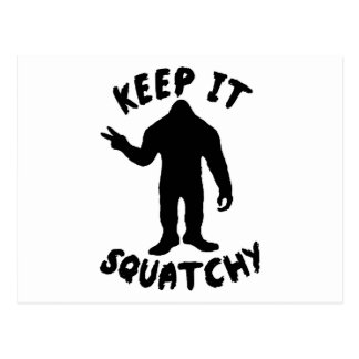Keep it Squatchy Post Cards