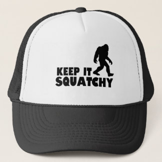 Keep it Squatchy | Sasquatch Bigfoot Trucker Hat