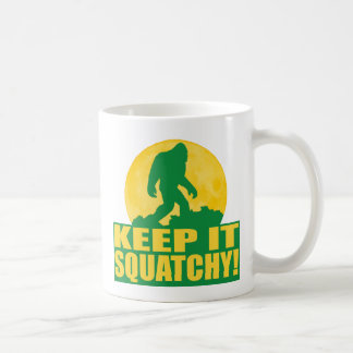 KEEP IT SQUATCHY! Special BARK AT THE MOON edition Coffee Mug