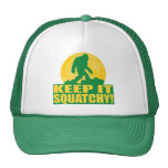 KEEP IT SQUATCHY! Special BARK AT THE MOON edition Mesh Hats