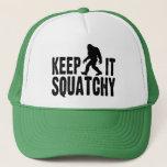 "Keep It Squatchy Trucker Hat<br><div class=""desc"">Keep It Squatchy Trucker Hat</div>"