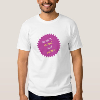 Keep It Stupid and Simple T-Shirt
