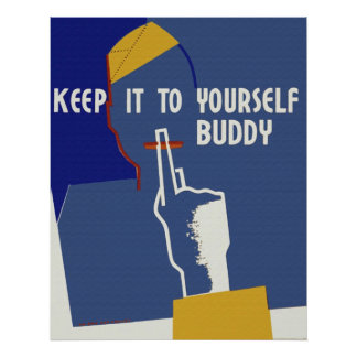 Keep It To Yourself Poster