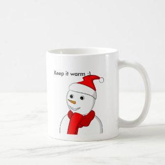 Keep it warm - Snowman Mugs
