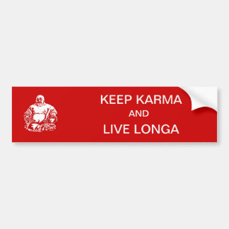keep karma bumper sticker