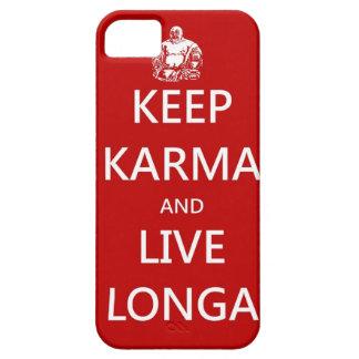 Keep Karma & live Longa iPhone SE/5/5s Case