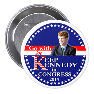 Keep Kennedy in Congress 2014 Pins