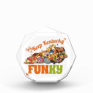 Keep Kentucky FunKY Acrylic Award