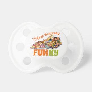 Keep Kentucky FunKY Baby Pacifiers