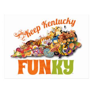 Keep Kentucky FunKY Postcard