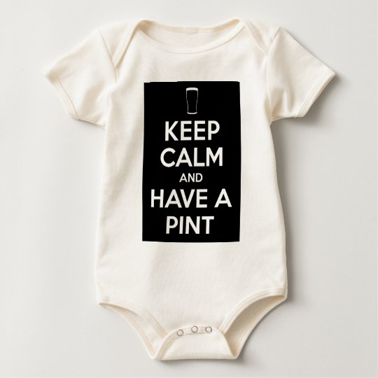 Keep Kind and Have a Pint Baby Bodysuit