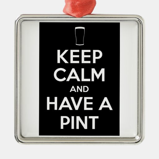 Keep Kind and Have a Pint Ornament