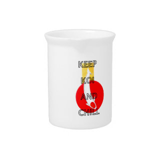 KEEP KOI AND CHILL DRINK PITCHER