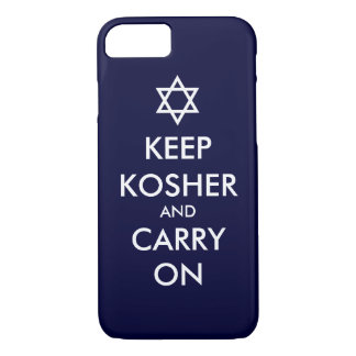 Keep Kosher and Carry On iPhone 8/7 Case