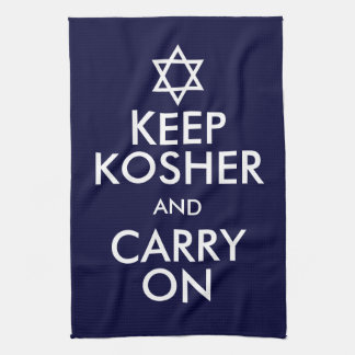 Keep Kosher and Carry On Towel