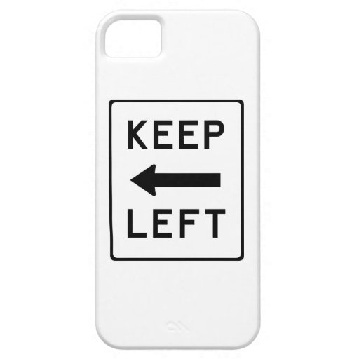 Keep Left Democratic Swag iPhone 5 Covers
